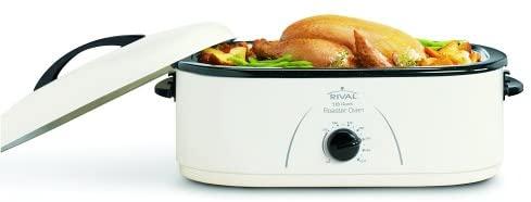 Rival Roaster Oven, 18-Quart, White (RO180)