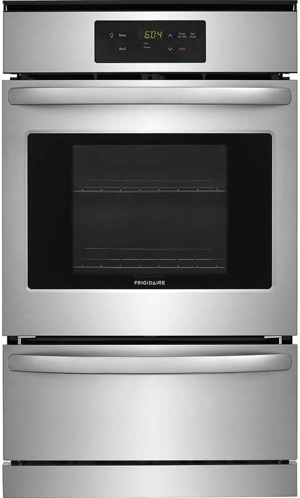 Frigidaire FFGW2416US 24 Inch 3.3 cu. ft. Total Capacity Gas Single Wall Oven in Stainless Steel