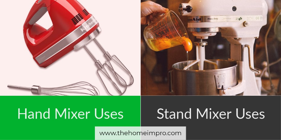 Hand Mixer Uses and Stand Mixer Uses